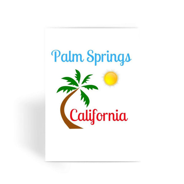 Palm Springs California Greeting Card 1 Prints