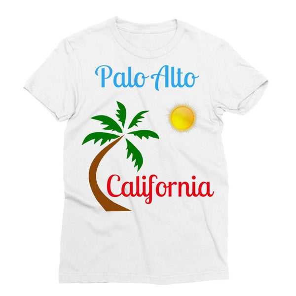 Palo Alto California Sublimation T-Shirt S Apparel