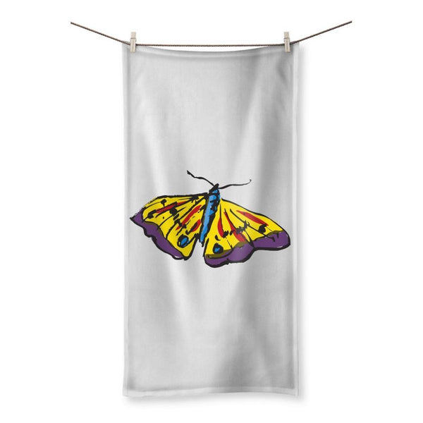 Passarella Butterfly Beach Towel 19.7X39.4 Homeware
