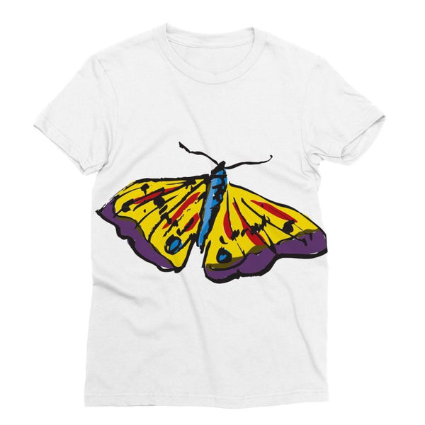 Passarella Butterfly Sublimation T-Shirt S Apparel
