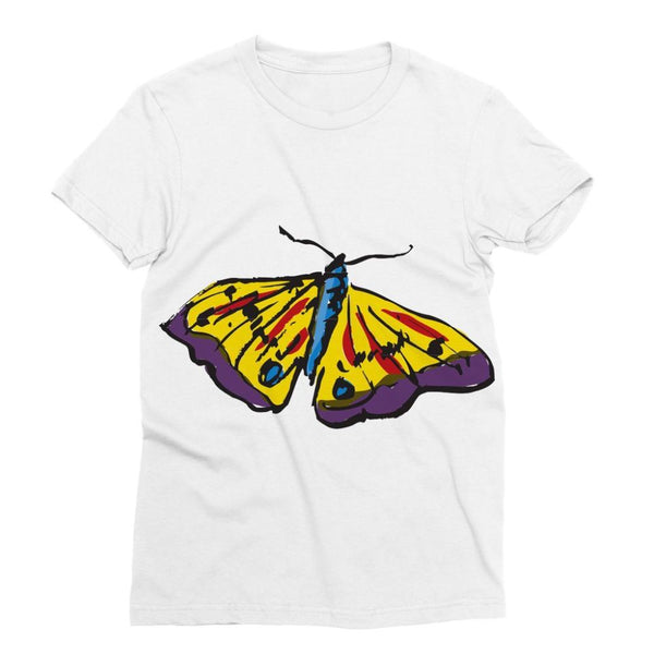 Passarella Butterfly Sublimation T-Shirt Xs Apparel
