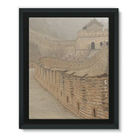 Pathway Of The Wall China Framed Eco-Canvas 11X14 Decor