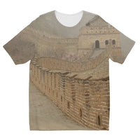 Pathway Of The Wall China Kids Sublimation T-Shirt 3-4 Years Apparel