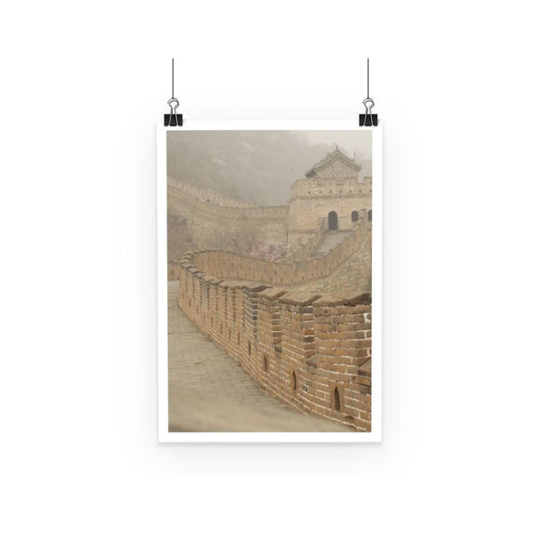 Pathway Of The Wall China Poster A3 Decor