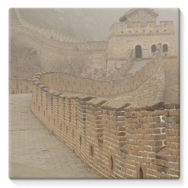 Pathway Of The Wall China Stretched Canvas 10X10 Decor