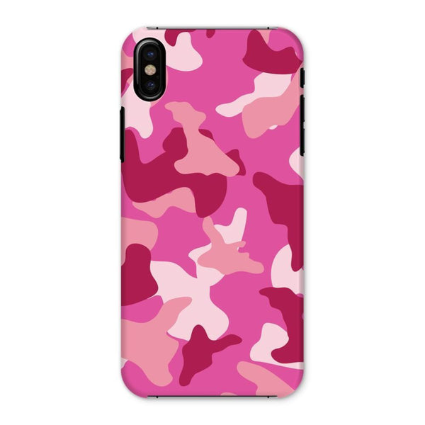 Pink Camo Pattern Phone Case Iphone X / Snap Gloss & Tablet Cases
