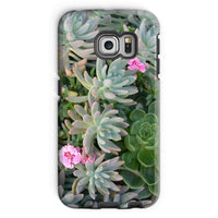 Plant With Pink Flowers Phone Case Galaxy S6 Edge / Tough Gloss & Tablet Cases