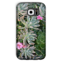 Plant With Pink Flowers Phone Case Galaxy S6 / Tough Gloss & Tablet Cases