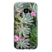 Plant With Pink Flowers Phone Case Galaxy S7 / Snap Gloss & Tablet Cases