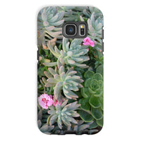 Plant With Pink Flowers Phone Case Galaxy S7 / Tough Gloss & Tablet Cases