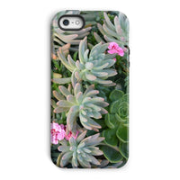Plant With Pink Flowers Phone Case Iphone 5/5S / Tough Gloss & Tablet Cases