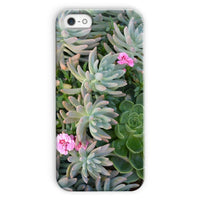 Plant With Pink Flowers Phone Case Iphone 5C / Snap Gloss & Tablet Cases