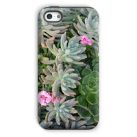 Plant With Pink Flowers Phone Case Iphone 5C / Tough Gloss & Tablet Cases