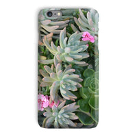 Plant With Pink Flowers Phone Case Iphone 6 Plus / Snap Gloss & Tablet Cases
