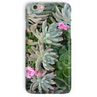 Plant With Pink Flowers Phone Case Iphone 6 / Snap Gloss & Tablet Cases