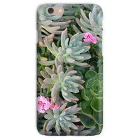 Plant With Pink Flowers Phone Case Iphone 6S / Snap Gloss & Tablet Cases