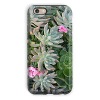 Plant With Pink Flowers Phone Case Iphone 6S / Tough Gloss & Tablet Cases