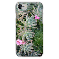 Plant With Pink Flowers Phone Case Iphone 7 / Snap Gloss & Tablet Cases