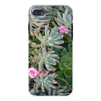 Plant With Pink Flowers Phone Case Iphone 7 / Tough Gloss & Tablet Cases