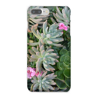Plant With Pink Flowers Phone Case Iphone 8 Plus / Snap Gloss & Tablet Cases