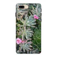 Plant With Pink Flowers Phone Case Iphone 8 Plus / Tough Gloss & Tablet Cases