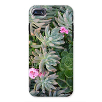 Plant With Pink Flowers Phone Case Iphone 8 / Tough Gloss & Tablet Cases