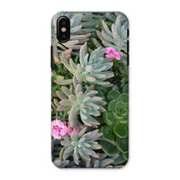 Plant With Pink Flowers Phone Case Iphone X / Snap Gloss & Tablet Cases
