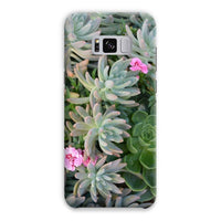 Plant With Pink Flowers Phone Case Samsung S8 Plus / Snap Gloss & Tablet Cases