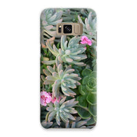 Plant With Pink Flowers Phone Case Samsung S8 / Snap Gloss & Tablet Cases