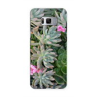 Plant With Pink Flowers Phone Case Samsung S8 / Tough Gloss & Tablet Cases