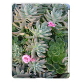 Plant With Pink Flowers Tablet Case Ipad 2 3 4 Phone & Cases