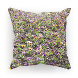 Portulaca Grandiflora Cushion Linen / 18X18 Homeware