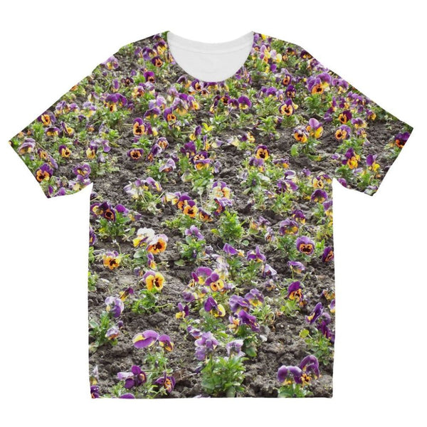 Portulaca Grandiflora Kids Sublimation T-Shirt 3-4 Years Apparel