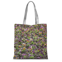 Portulaca Grandiflora Sublimation Tote Bag 15X16.5 Accessories