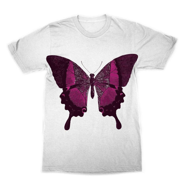 Purple Fantasy Butterfly Sublimation T-Shirt Xs Apparel