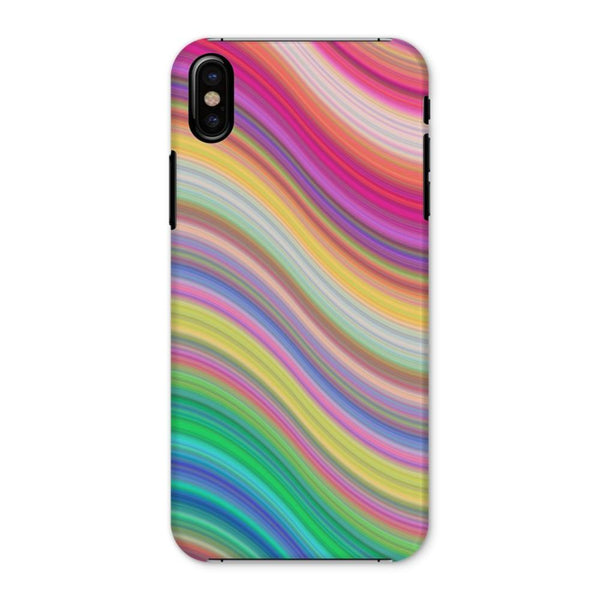 Rainbow Pattern Expression Phone Case Iphone X / Snap Gloss & Tablet Cases