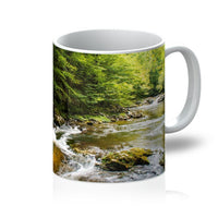 River Surrounded By Trees Mug 11Oz Homeware