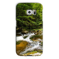 River Surrounded By Trees Phone Case Galaxy S6 Edge / Snap Gloss & Tablet Cases