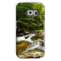 River Surrounded By Trees Phone Case Galaxy S6 Edge / Tough Gloss & Tablet Cases
