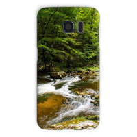 River Surrounded By Trees Phone Case Galaxy S6 / Snap Gloss & Tablet Cases