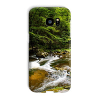 River Surrounded By Trees Phone Case Galaxy S7 Edge / Snap Gloss & Tablet Cases
