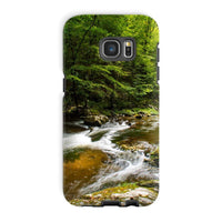 River Surrounded By Trees Phone Case Galaxy S7 Edge / Tough Gloss & Tablet Cases