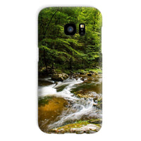 River Surrounded By Trees Phone Case Galaxy S7 / Snap Gloss & Tablet Cases