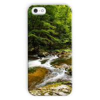 River Surrounded By Trees Phone Case Iphone 5C / Snap Gloss & Tablet Cases