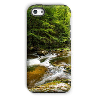 River Surrounded By Trees Phone Case Iphone 5C / Tough Gloss & Tablet Cases