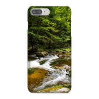 River Surrounded By Trees Phone Case Iphone 8 Plus / Snap Gloss & Tablet Cases