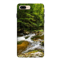 River Surrounded By Trees Phone Case Iphone 8 Plus / Tough Gloss & Tablet Cases