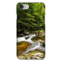 River Surrounded By Trees Phone Case Iphone 8 / Snap Gloss & Tablet Cases