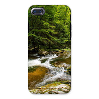 River Surrounded By Trees Phone Case Iphone 8 / Tough Gloss & Tablet Cases
