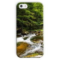River Surrounded By Trees Phone Case Iphone Se / Snap Gloss & Tablet Cases